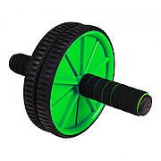 Ролик (гімнастичне колесо) для преса Sportcraft ES0004 Green