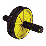 Ролик (гімнастичне колесо) для преса Sportcraft ES0005 Yellow