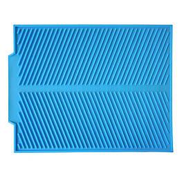 Силіконовий килимок кухонний сушарка піднос