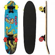Скейтборд круїзер SportVida Abstract Blue SV-RD0004