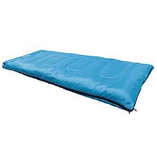 Спальний мішок (спальник) ковдра SportVida SV-CC0060 +2 ...+ 21°C R Sky Blue/Grey, фото 3