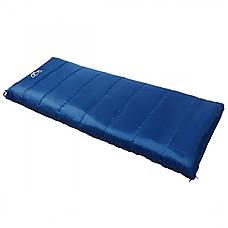 Спальный мешок (спальник) одеяло SportVida SV-CC0066 -3 ...+ 21°C R Blue/Grey, фото 2