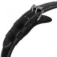 Пояс для важкої атлетики та пауерліфтингу SportVida SV-PA0103 XL Black, фото 2