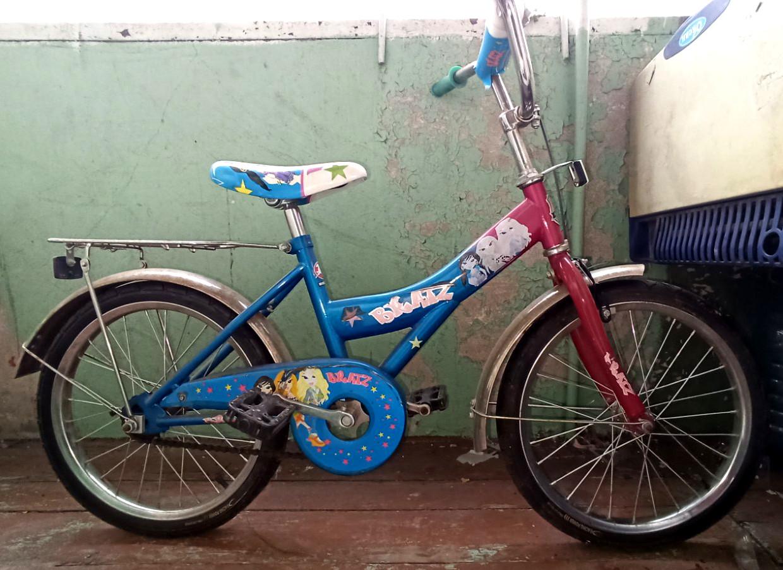 """Дитячий велосипед 16"""" на 6-9 років (Б/у)"""