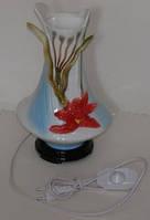Лампа  настольная  интерерная ваза  V09