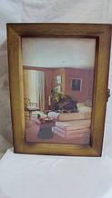 Ключница настенная деревянная «Родной дом» размер 30*20*8