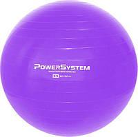 М'яч для фітнесу і гімнастики Power System PS-4012 65 cm Purple