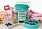 Швейный набор Deluxe Sewing Kit 210 предметов, набор для шитья Делюкс Сьюин Бокс, фото 2