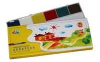 Акварель Н.В. Гамма картон 12 цвет без кист. 311036 (28)