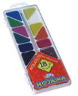 Акварель Н.В. Гамма плас Мозаика 18 цвет  без кист. 312058 (30)