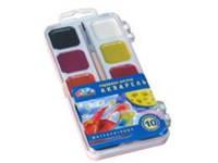 Акварель Н.В. Гамма пластик 10 цвет без кист. 312044 (40/80)