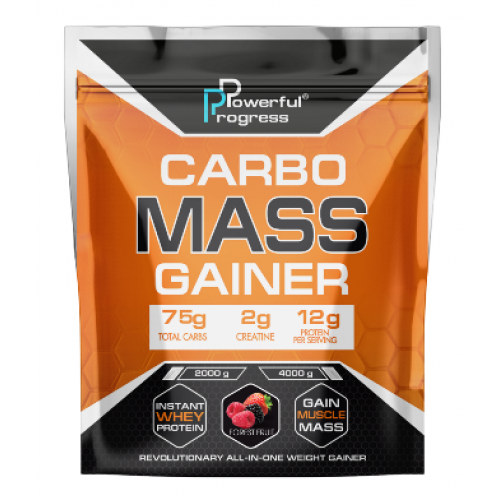 Carbo Mass Gainer - 4000g Forest Fruit