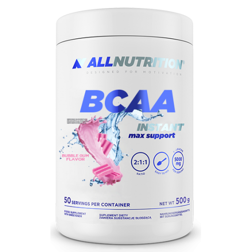 BCAA Max Support Instant - 500g Bubble Gum