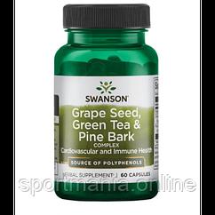 Grape Seed green tea pine bark - 60caps