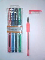 Ручка набір TY-501P-4 маслян.  4 цвет. (36/432)