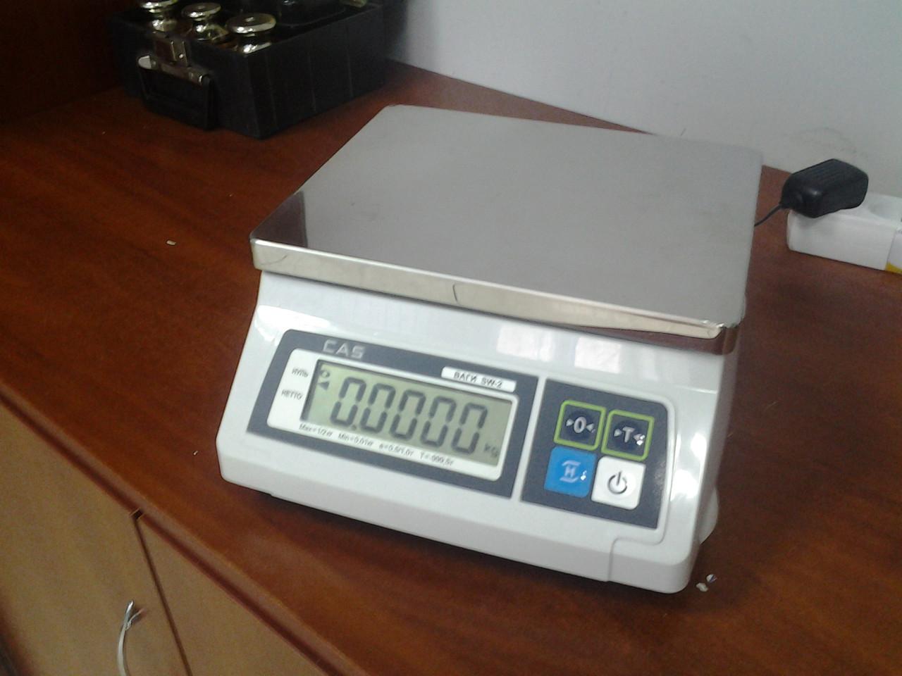 Весы счетные CAS SW-C (2 кг, 5 кг, 10 кг, 20 кг)