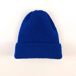 Універсальна шапка SOX з вовни і акрилу. Колір: індиго