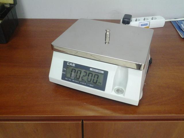 весы CAS SW с вторым индикатором
