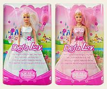 Лялька типу Барбі наречена Defa Lucy 6091, 2 види