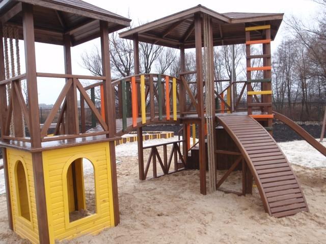 Детские игровые площадки - АРТ-БАСТИОН в Киеве