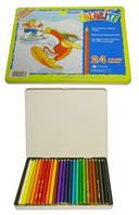 Карандаши цветные 24цв. MARCO Colorite 1100-24TN