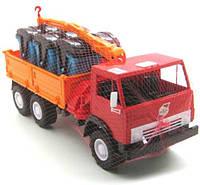 Машинка игрушка бортовая с манипулятором Х3 280