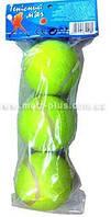 Теннисные мячи  в пакет 3шт 23*11см  MS 0234