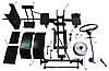 Комплект для переобладнання мотоблока в мототрактор №5 (гідравлічна гальмівна система) (КТ16)