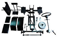 Комплект для переоборудования мотоблока в мототрактор №2 (гидравлическая тормозная система) (КТ4, КТ6), фото 1