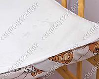 Непромокаемый наматрасник в детскую кроватку 60х120 полиэстер