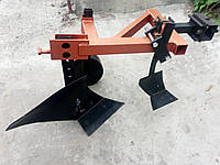 Плуг мотоблочный посилений з передплужником опорним колесом, фото 1