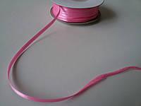 Лента атлас 3 мм розовая