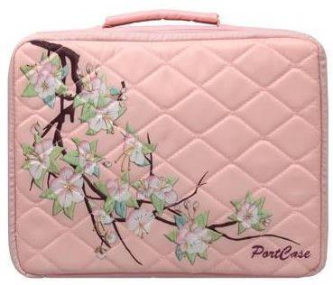 """Женская красивая сумка для ноутбука 13.3"""" PortCase KCB-13 Sakura розовый"""
