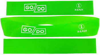 Резинка для фитнеса GoDo №1 нагрузка 3 кг латексная петля лента эспандер