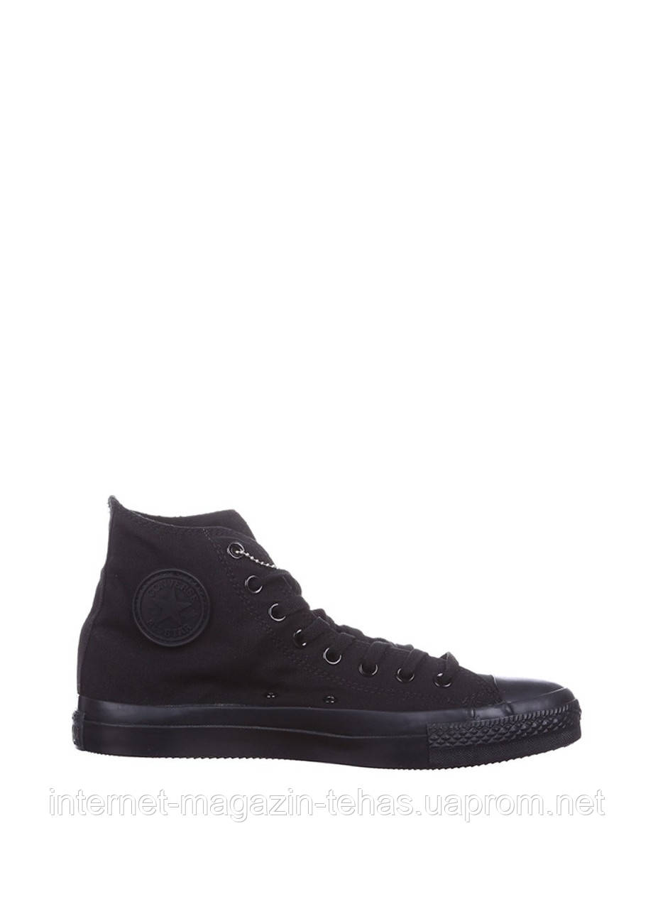 Кеды мужские Converse Chuck Taylor All Star High Mono Black в черном цвете  высокие - Интернет 7dd9595683a