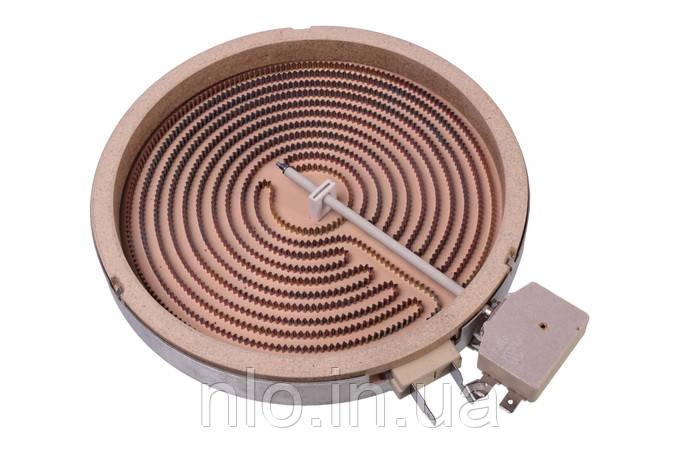 Електроконфорки (склокераміка) для електроплити, Heatwell 191204 d=200/178 mm 1800W (2 контакту)