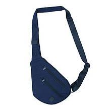 Плечова сумка для зброї DANAPER Flat (340х230х30мм), синя