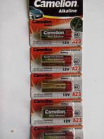 Camelion-тип батарейка 12V   Типорозмер А 23 Алкалиновая (щелочная);  Bossman 12V  А 23 возможен безнал