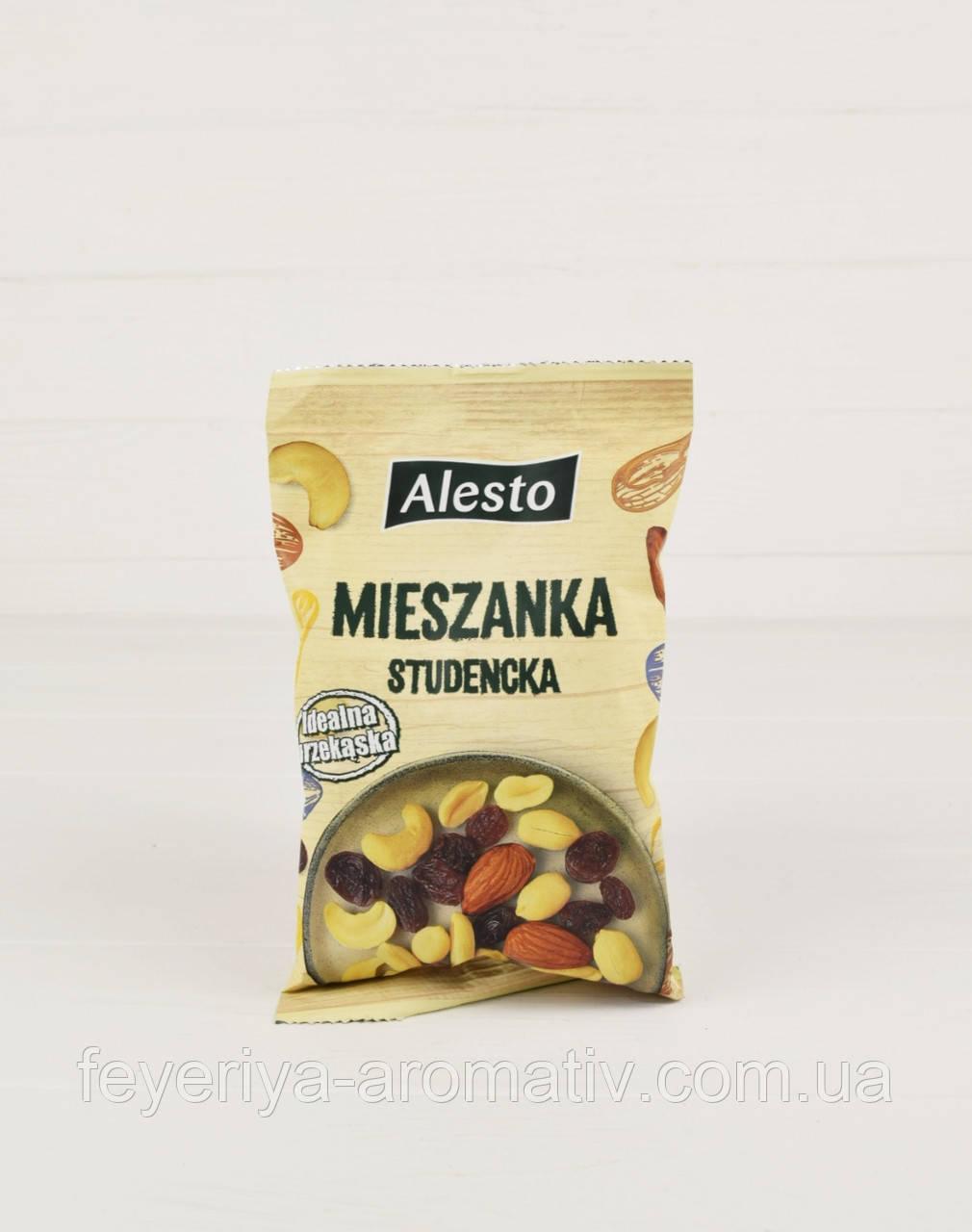 Смесь орехов и сухофруктов Alesto Mieszanka Studencka 200г (Германия)