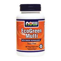 комплекс витаминов, микро- и макроэлементов и минералов EcoGreen Multi (90 veg caps)