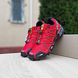 Мужские кроссовки SALOM0N SPEEDCROSS 3 Красные, фото 4