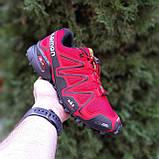 Мужские кроссовки SALOM0N SPEEDCROSS 3 Красные, фото 5