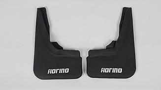 Брызговики передние на Fiat Fiorino 2008-... (к-т 2шт, FIA170)