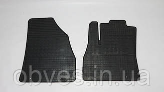 Коврики резиновые на Fiat Fiorino 2008-... (к-т: 2шт, передние,Polуtep)