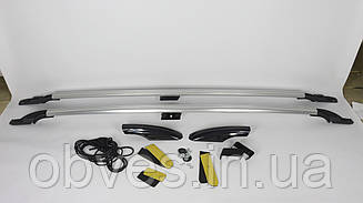 Рейлинги на Fiat Doblo 2000-2005 длинная база (Dora хром)