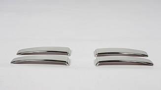 Хром накладки на ручки (4 шт., нерж, TR) на Fiat Ducato 2006-2014