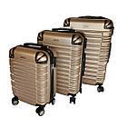Комплект валіз, ABS+PC Kaiman, фото 2