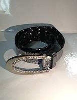 Ремень кожаный женский BALIZZA серебряный , фото 1
