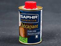 Жидкость для снятия краски Saphir Decapant (жестяной флакон 100 мл)