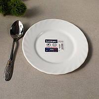Белая пирожковая тарелка Luminarc Trianon 155 мм (D7501)